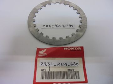22311-KN4-680 new Plate,clutch Honda CR80