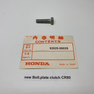 92025-06025 bolt plate clutch CR80
