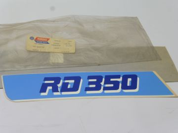 57V-2839F-10 Graphic decal links deksel RD350F