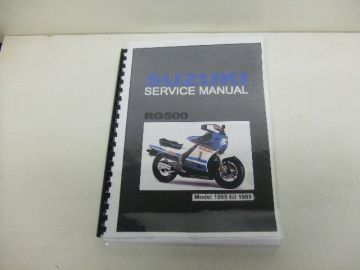 Service/onderdelen combinatieboek road bike RG500English