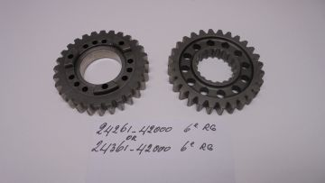 24261-42000 or 24361 Gear 6e counter or drive 28T Suz.RG500 racing
