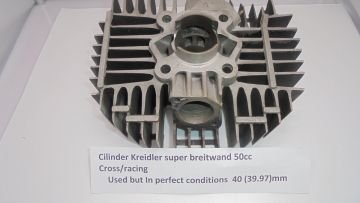 Cilinderbreitwand Kreidler motocross/racing 50cc 40mm perfect.