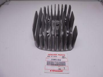 11001-053 Cilinderkop Kawasaki S2 350/3 cilinder gebruikt in perfecte staat.