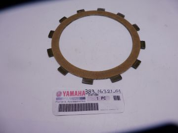 383-16321-01 Clutch plate friction TZ250/350 C-D-E-F-G-H-J-K models racing