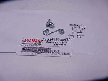 240-28398-00 / 28386-00 / 28388-00 Fastner ass'y fairing (8mm) Yam.racing all models