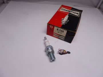 Champion N54R spark plug road racing bike New