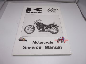 technisch hendelidingsboek Kawasaki VN700-VN750 1985 -1995