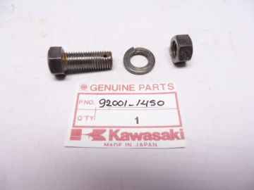 92001-1450 bout 10 x 25 rempedaal torque link KX80
