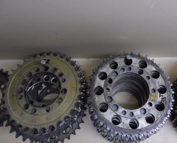 240-25429-00 untill 240-25440-00 Rear sprocket Yamaha racing 29T untill 40T