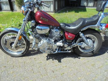Motorbike Yamaha XV750C Virago 1983 - 1985 as new